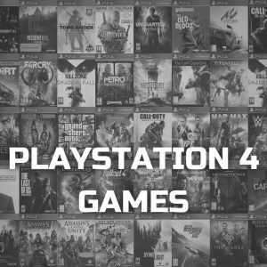 Sony Playstation 4 PS4 Video Games